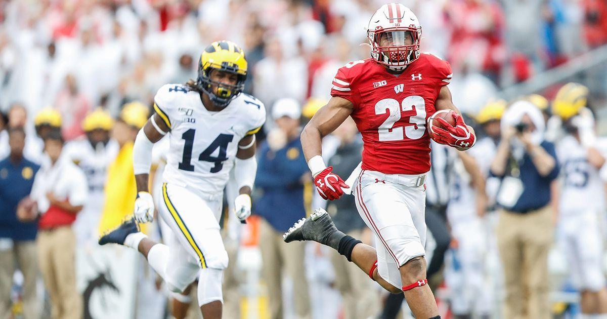 Watch Jonathan Taylors highlights vs. Michigan & postgame