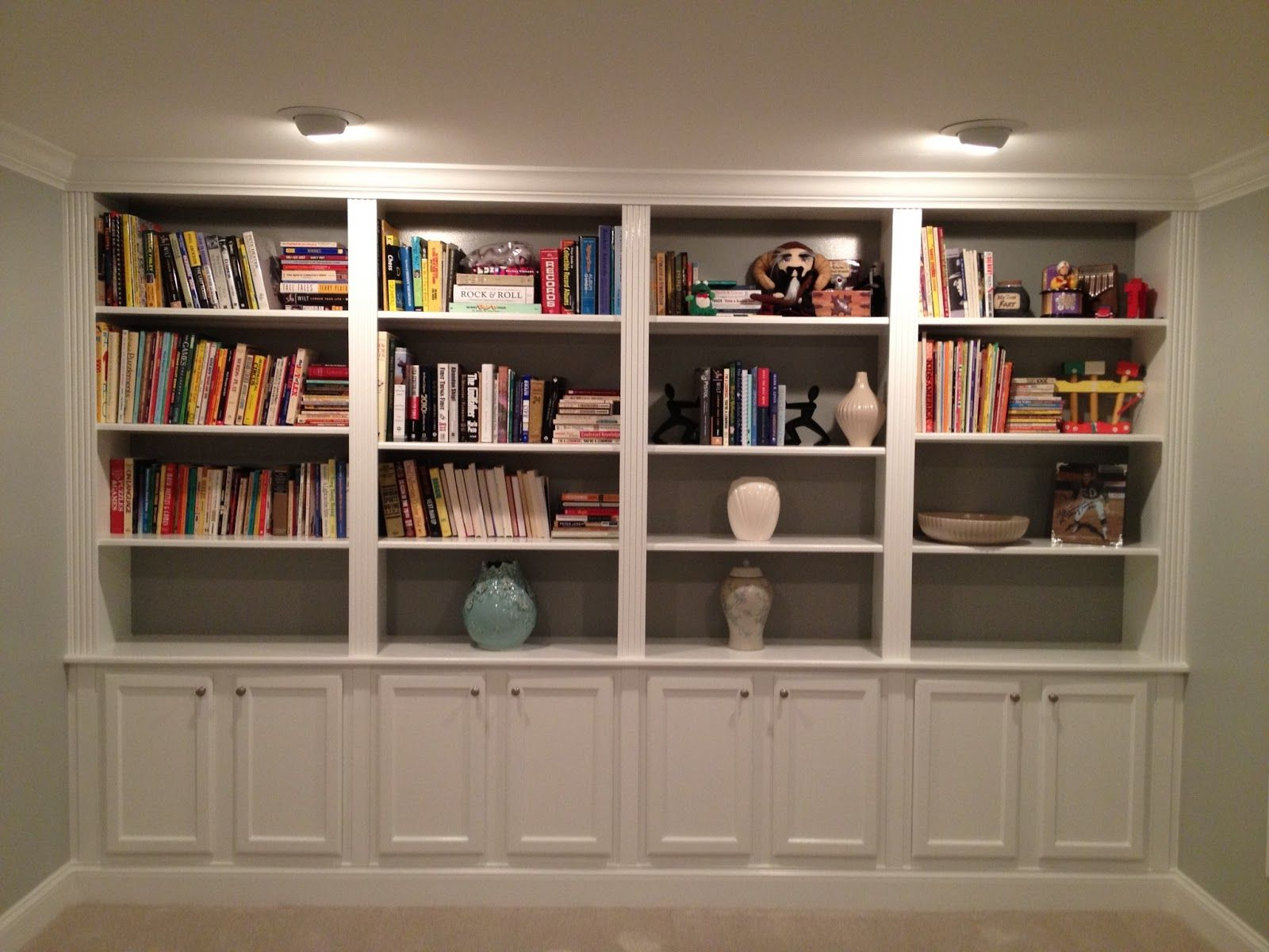 For Small Spaces And Built Bookshelves For Small Spaces Home Decor ...