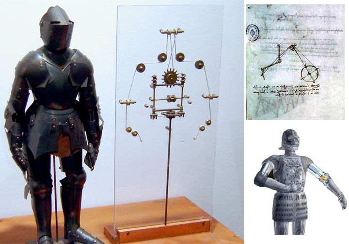 Image result for leonardo's robot