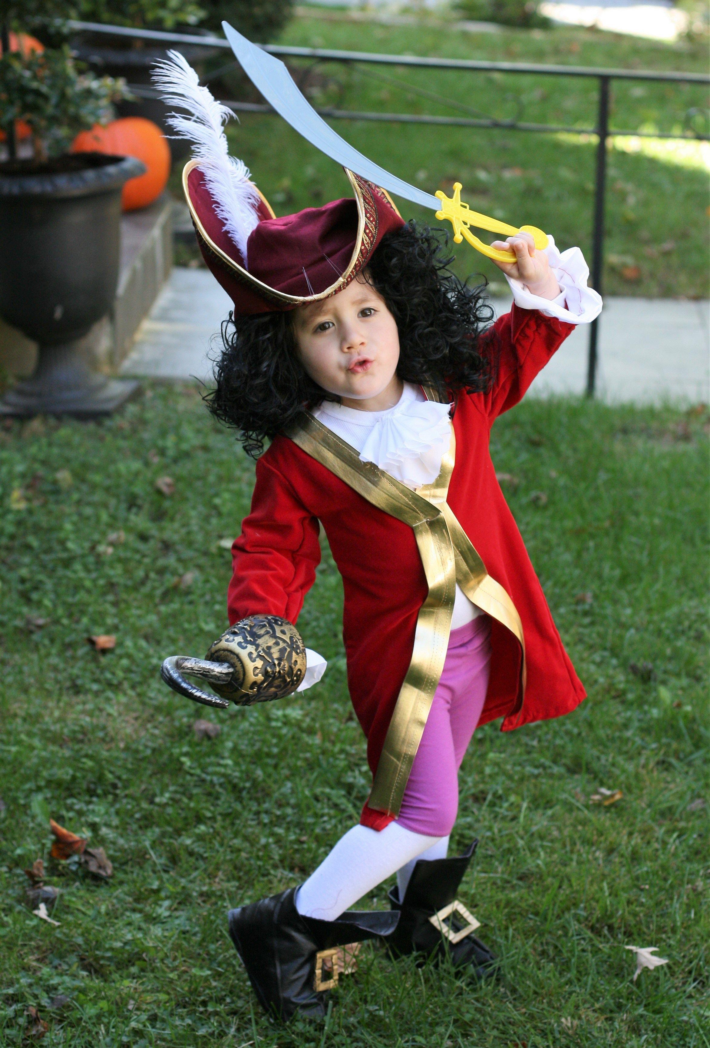 Captain Hook & Mr. Smee DIY Halloween Costumes • Sew Watts