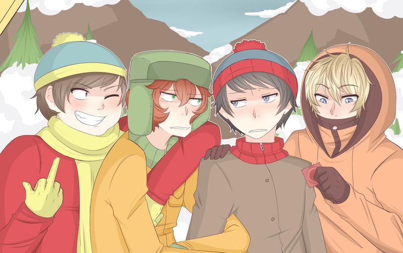 South Park (anime version)   Anime Amino
