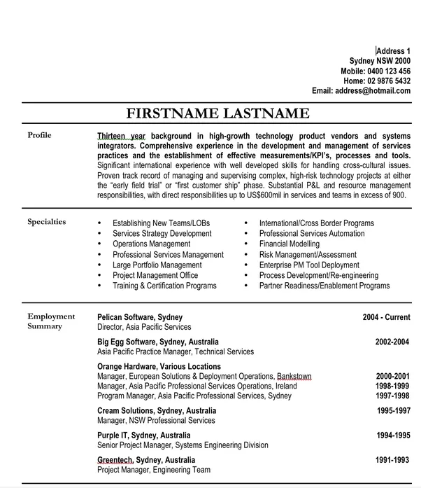 Quora (With images) Resume templates, Resume format