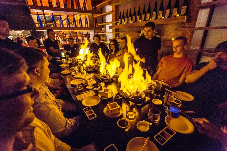 Nobu Dallas Japanese Restaurant Dallas Restaurants Bar Lounge