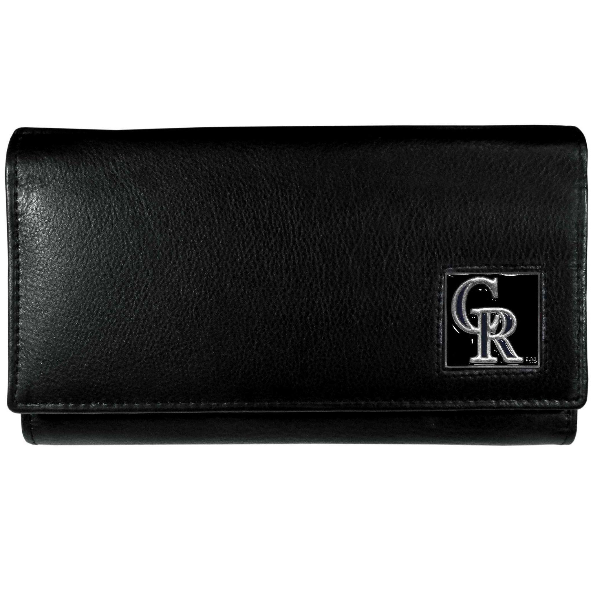 Colorado Rockies Leather Women's Wallet