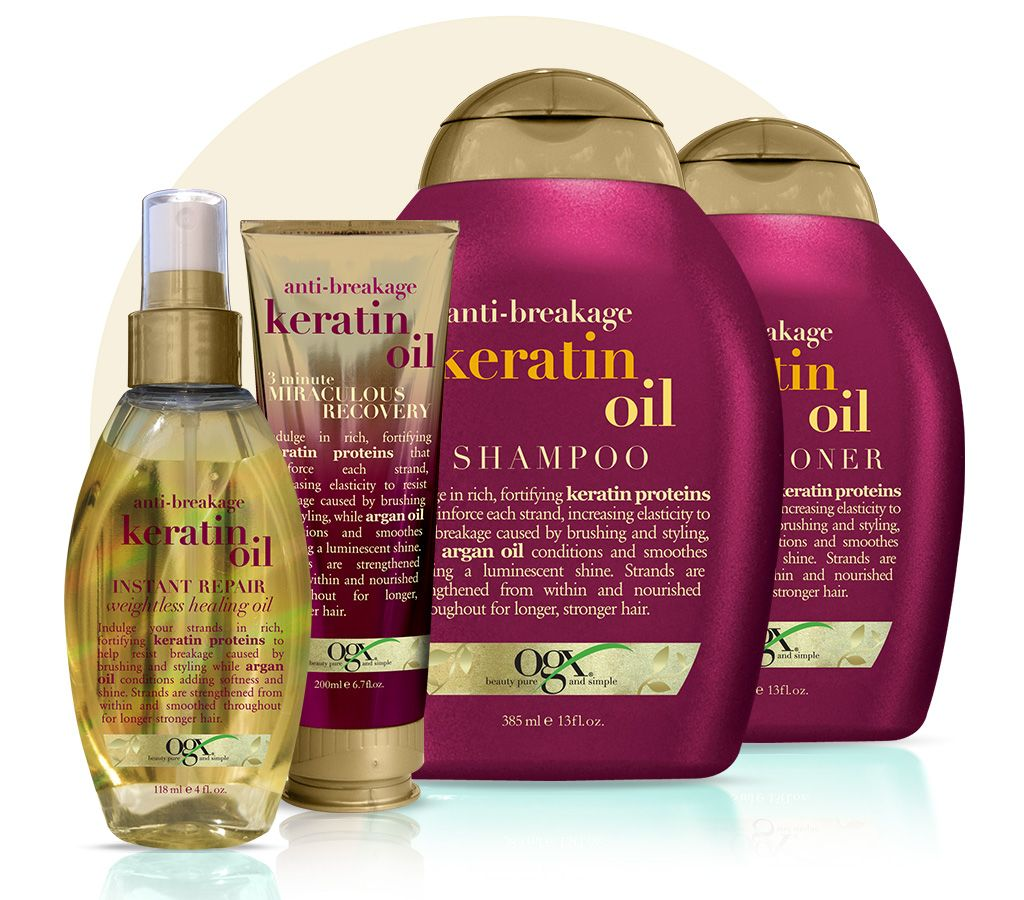 Keratin Oil Keratina Cabello Cuidado Del Cabello Shampoo Para