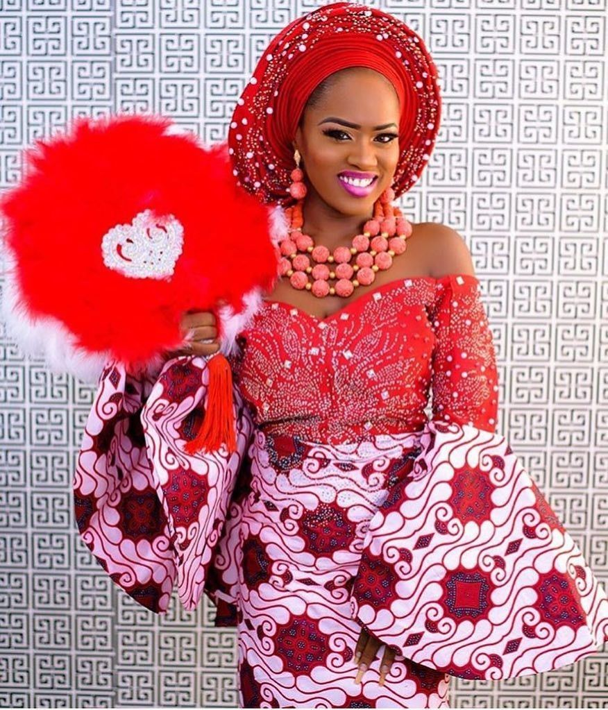 There are quite a few ways to make oneself beautiful with an Asoebi style, Even if you are reasoning on what to make and slay with an Asoebi style. Nigerian Yoruba dress styles for parties arrive in a variety of patterns and designs.   The Ankara dress styles beauty of this print is that it comes in many designs and textures. Ankara will permit you make a be consistent with of any cloth without losing the  African Ankara dresses  flair. #nigeriandressstyles There are quite a few ways to make one #nigeriandressstyles