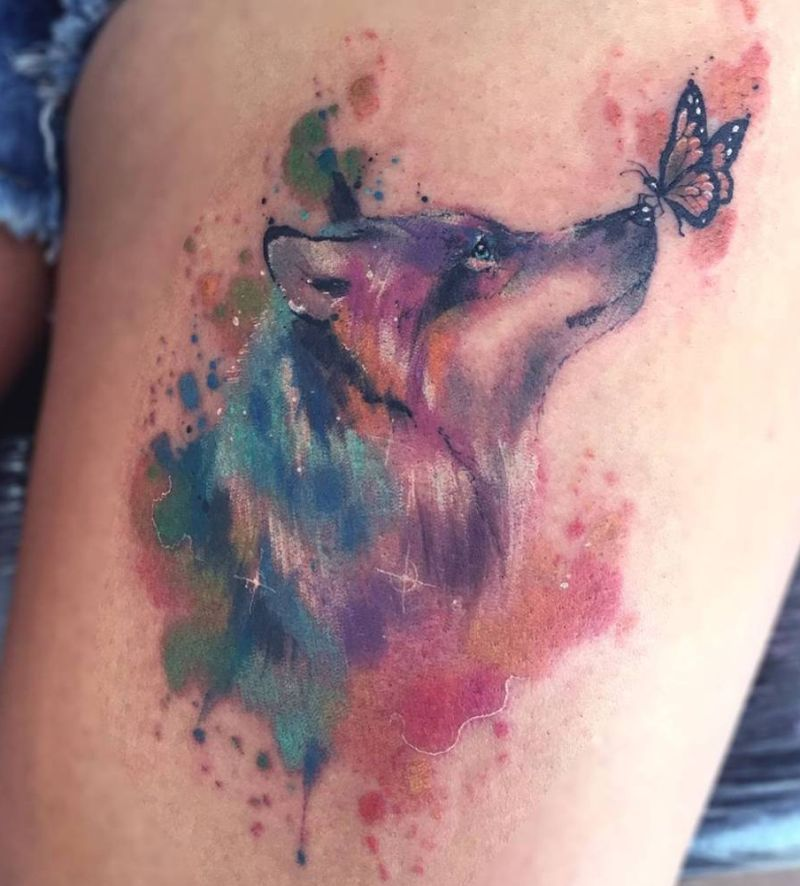 Photo of 50 Of The Most Beautiful Wolf Tattoo Designs The Internet Has Ever Seen