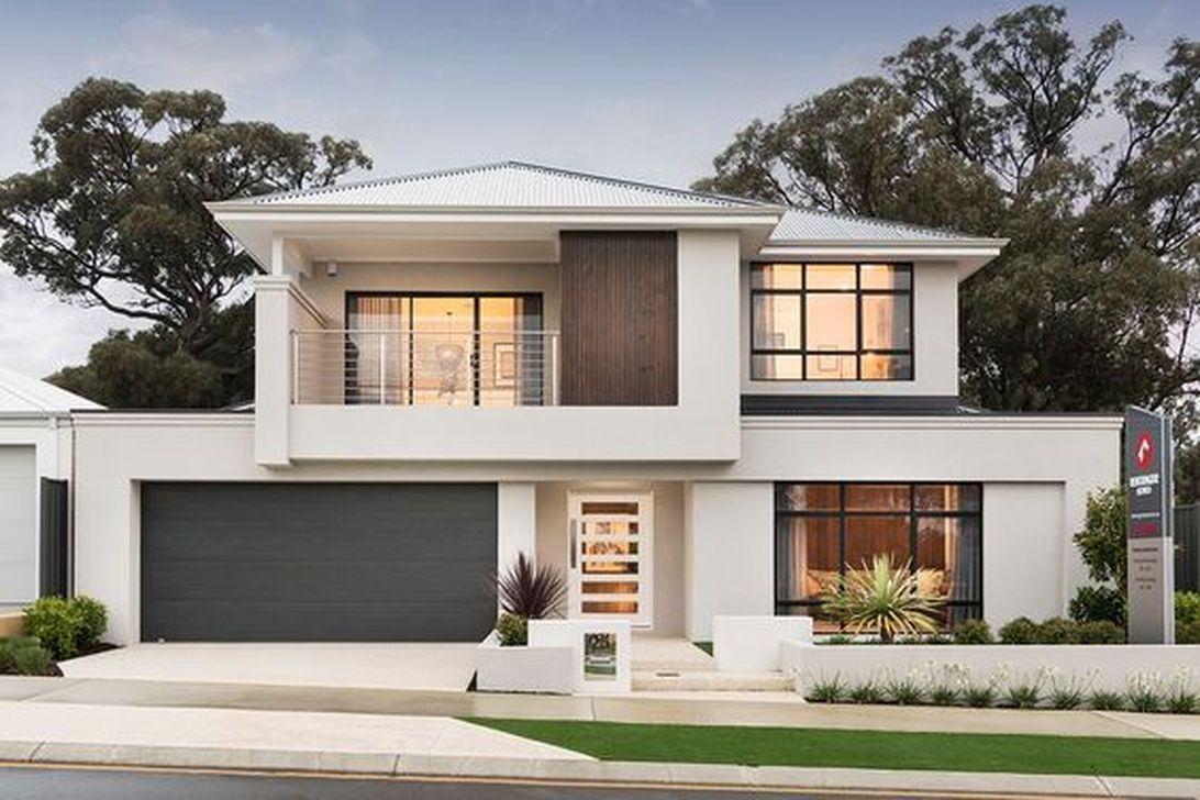 37 Stunning Contemporary House Exterior Design Ideas You Should Copy In 2020 House Exterior Contemporary House Exterior House Front Design