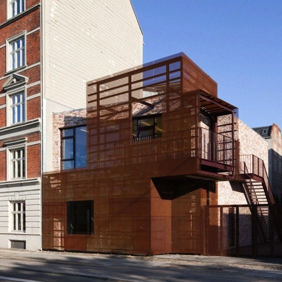 Architecture Acier Corten - Amazing Home Ideas - freetattoosdesign.us