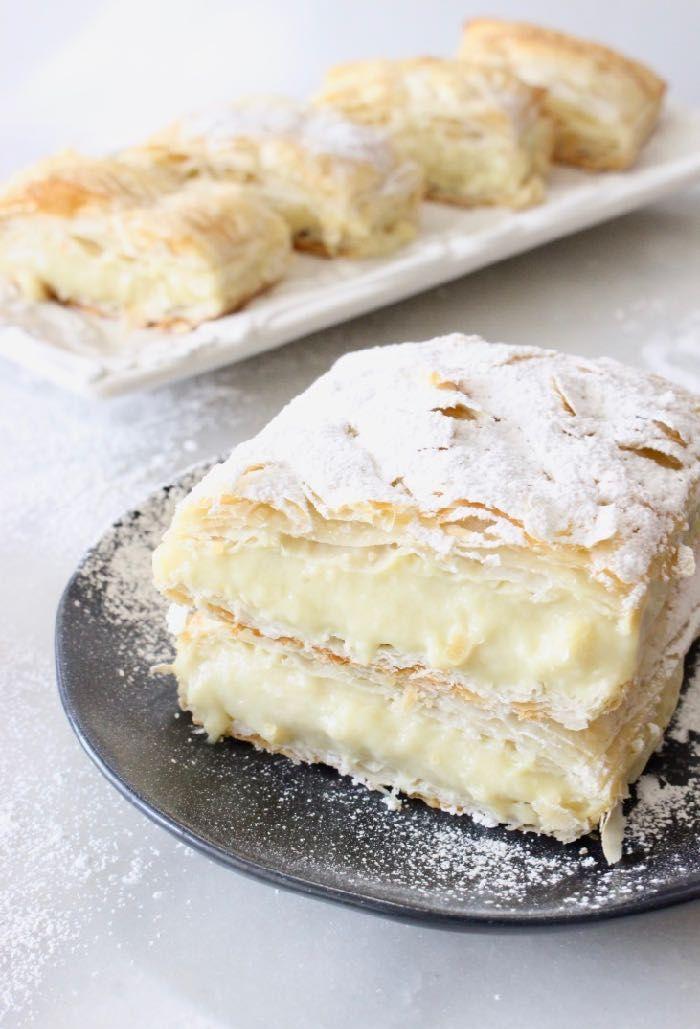 Vegan Custard Puff Pastry