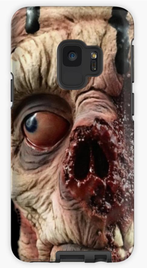 Zombie Face' Case/Skin for Samsung Galaxy by FantasySkyArt