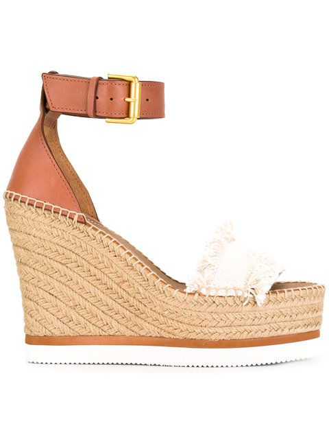 7a9f6b4a1ffe1 SEE BY CHLOÉ espadrille wedge sandals.  seebychloé  shoes  sandals ...