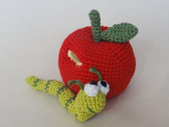 William el gusano Amigurumi Crochet Patrón por IlDikko en Etsy ...