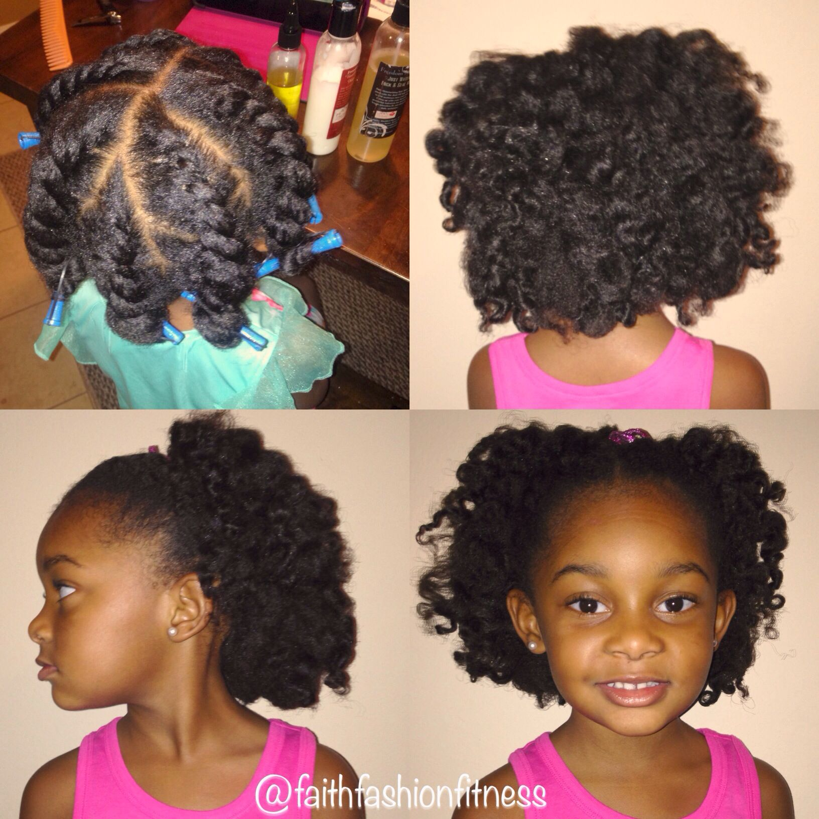 Flat Twist Out For Kids Natural Hairstyle Natural Hair Styles Easy Natural Hair Styles Natural Hair Twist Out