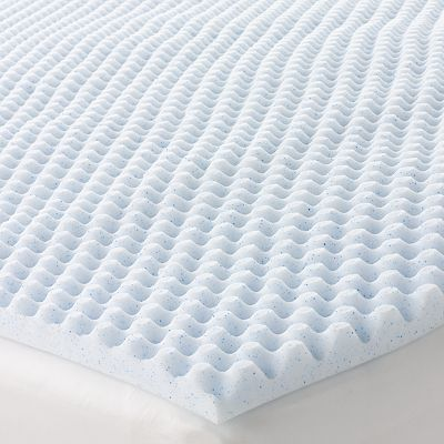 The Big One 1 1 2 Inch Cooling Gel Memory Foam Mattress Topper
