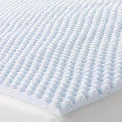 The Big One 1 1 2 Inch Cooling Gel Memory Foam Mattress Topper Memory Foam Mattress Topper Mattress Memory Foam