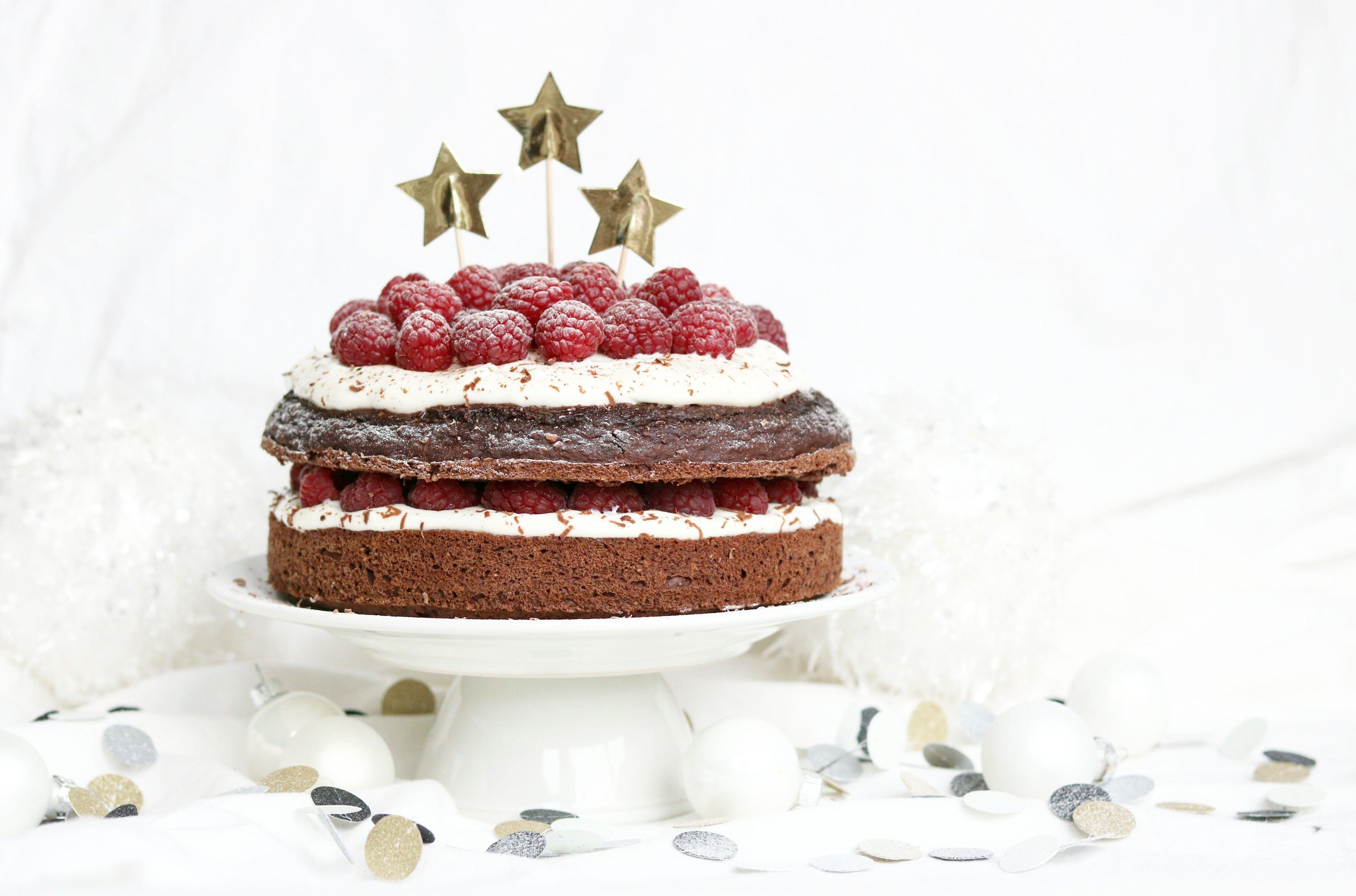 Healthy christmas cake succes desserts en cakes