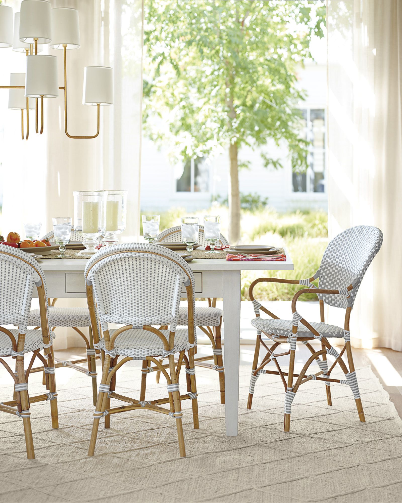 Lake cottage kitchen table and chandelier | lake cottage kitchen and ...