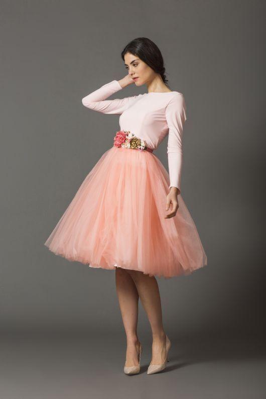 48f0a7e99 Coosy - FALDA CARRIE ROSITA SALMON | My Fall/Winter Style | Falda ...