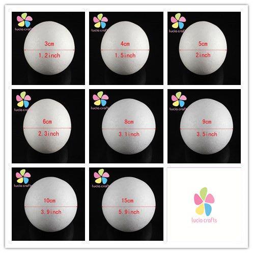 3 Cm 4 Cm 5 Cm 6 Cm 8 Cm 9 Cm 15 Cm Blanc Modelisation Polystyrene Styromousse Balle En Mousse Spheres Pour Nouveau Bricolag Crafts Craft Supplies Diy Handmade