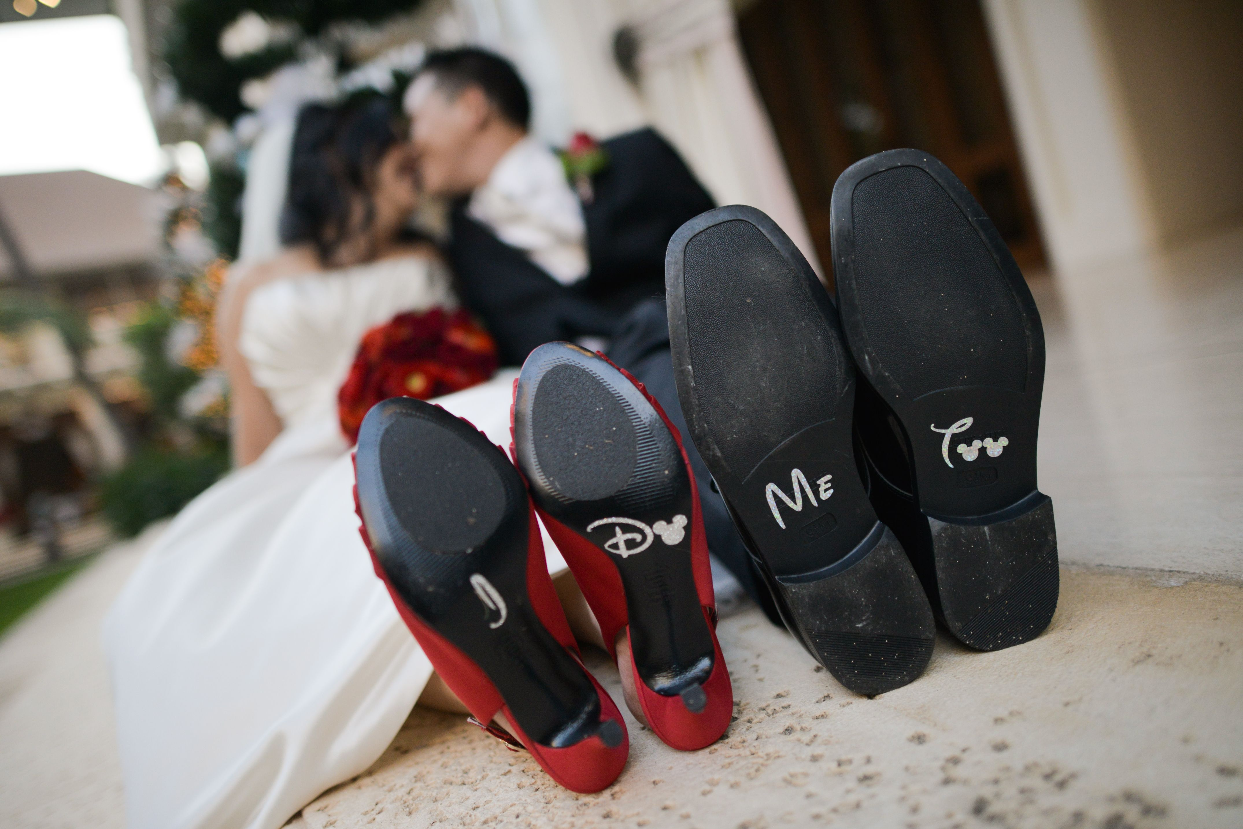 matching shoes that say i love disney me too cuuuute