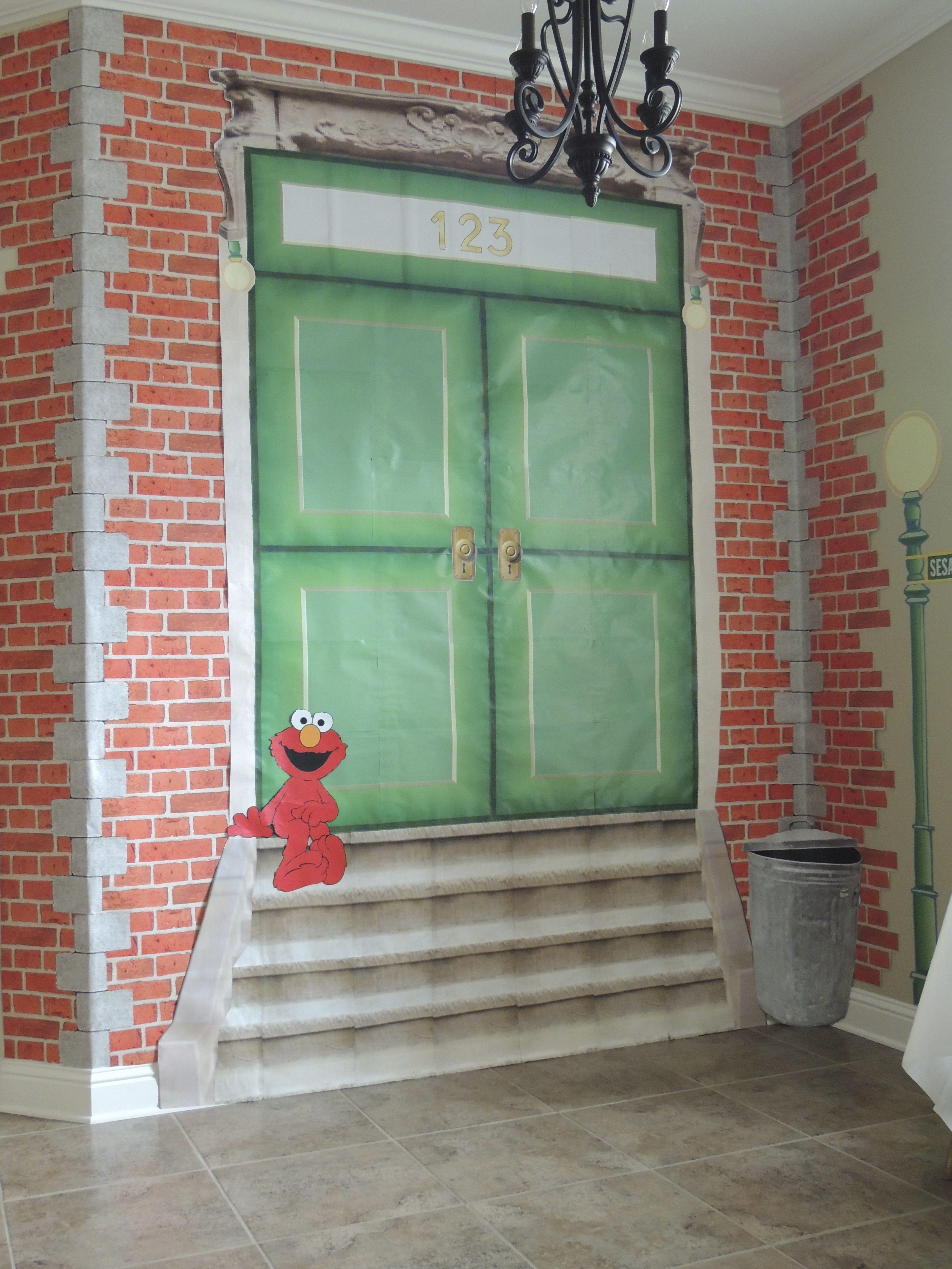 Sesame Street Decor, Sesame street, Outdoor decor