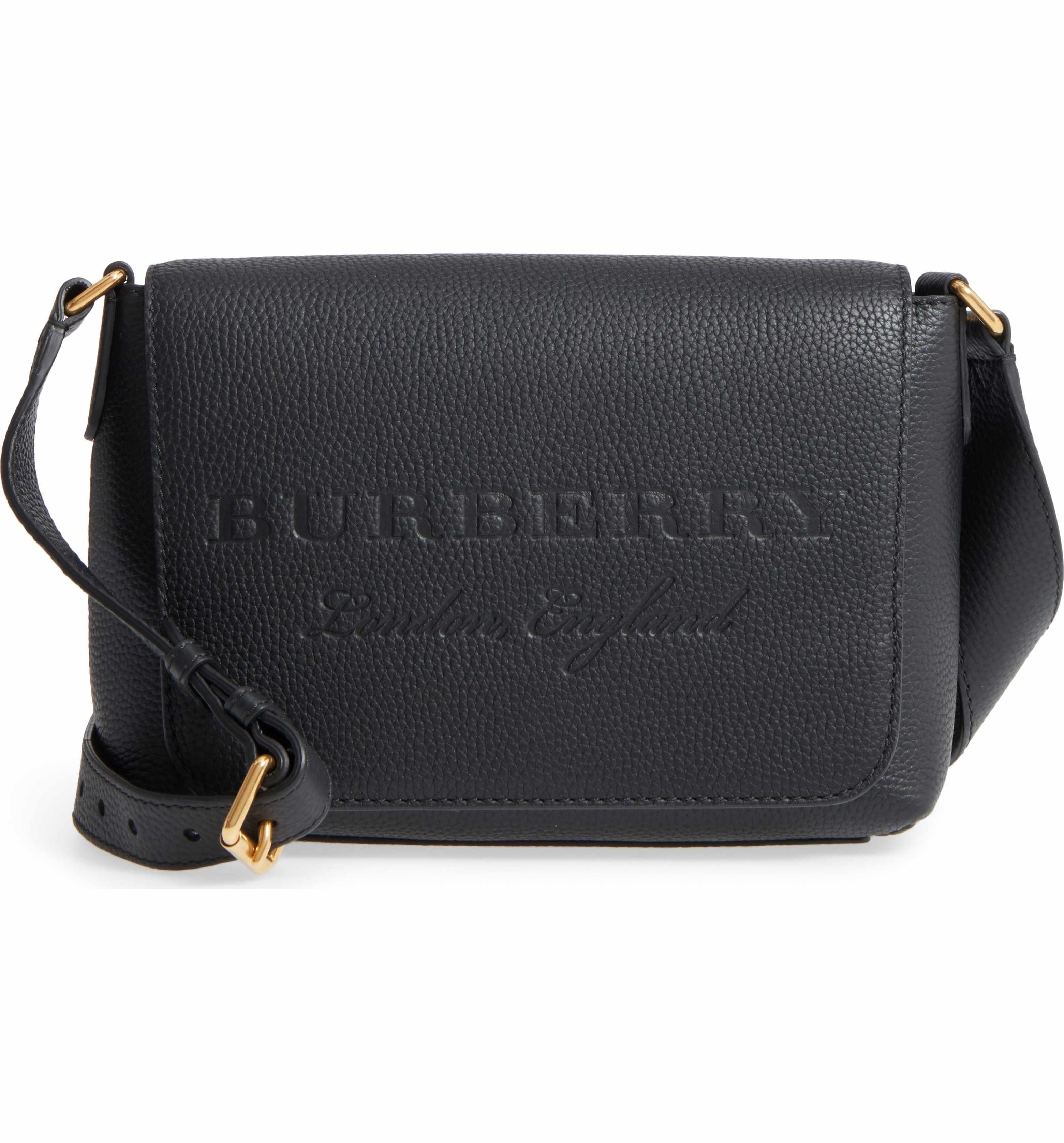 b82ffa626b32 Main Image - Burberry Small Burleigh Leather Crossbody Bag