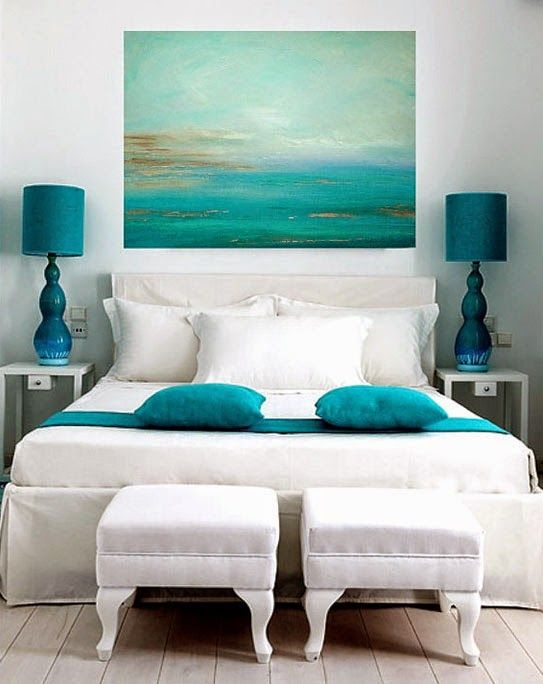 1000 images about chambres on pinterest - Decoration De Chambre En Bleu