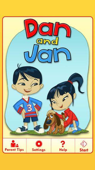 """""""Dan & Jan"""" Book (Free) Abc mouse, Hardcover book"""