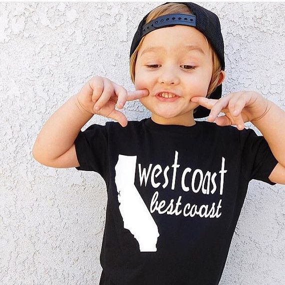 ae8ccedcc West Coast Best Coast Shirt, trendy baby clothes, california shirt, cool baby  shirt, baby shower gif