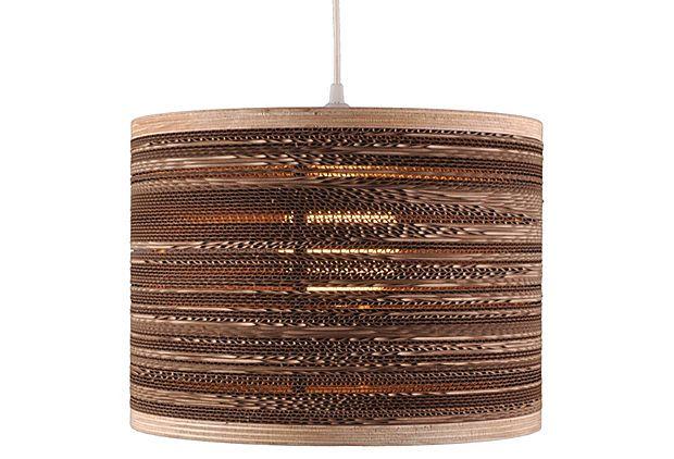 "16"" Corrugated Drum on OneKingsLane.com"