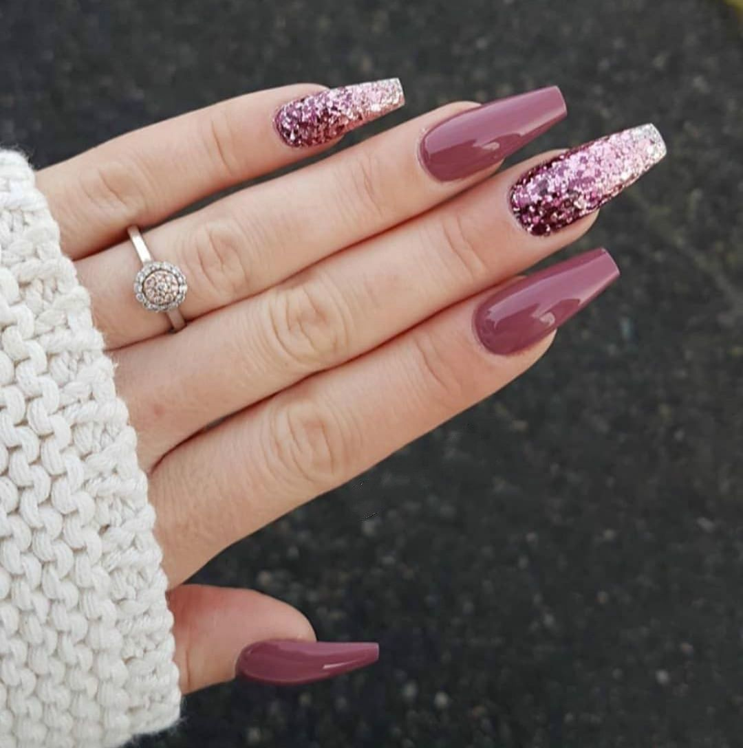 Nail Makeup Design Acrylic Nails Coffin Glitter Nail Designs Acrylic Nail Designs