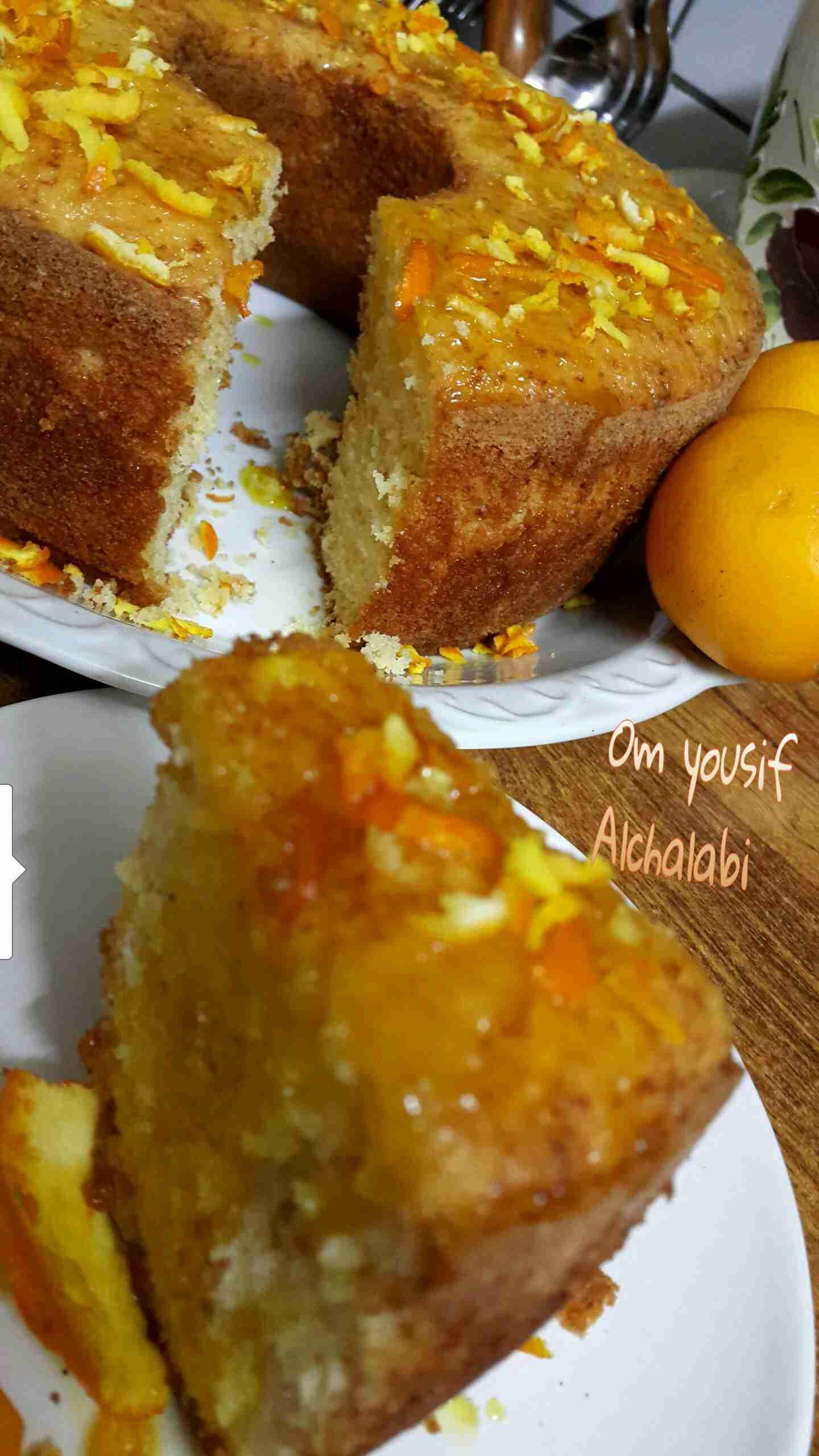 كيكة الليمون روووعة لفطور الصباح زاكي Fast Easy Breakfast Dessert Recipes Food