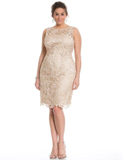 vestidos de moda para gorditas | vestidos para gorditas