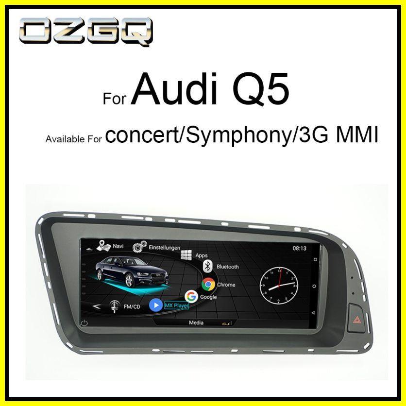New Ozgq Android System 3g Mmi Car Multimedia Player Autoradio For Audi Q5 2010 2016 With Mmi Control Bluetooth Wifi Map Function 2020 Audi Q5 Audi Multimedia