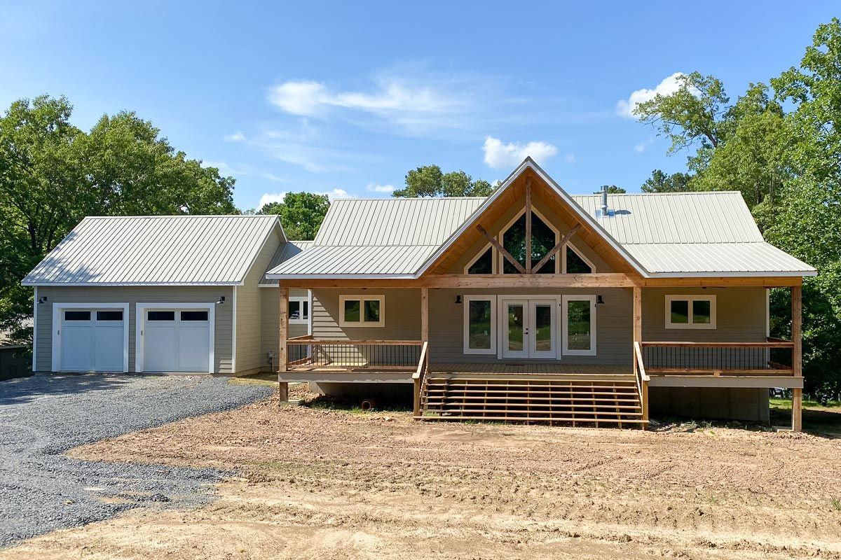 Plan 68510VR 2Bed Country Ranch Home Plan with Walkout