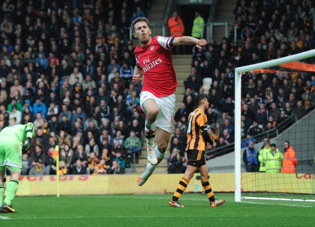 Hull City 0 Arsenal 3 - We go 1-0 up!!