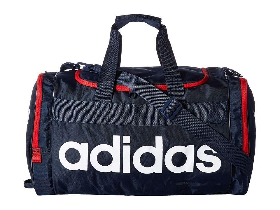 ADIDAS ORIGINALS ADIDAS - ORIGINALS SANTIAGO DUFFEL (COLLEGIATE NAVY  SCARLET WHITE) DUFFEL BAGS.  adidasoriginals  bags  shoulder bags  hand  bags  polyester ... af9c73bb4edee