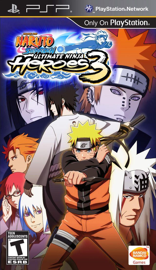 Naruto Shippuden Ultimate Ninja Heroes 3 Psp Iso Download Portalroms Com Naruto Games Naruto Shippuden Naruto