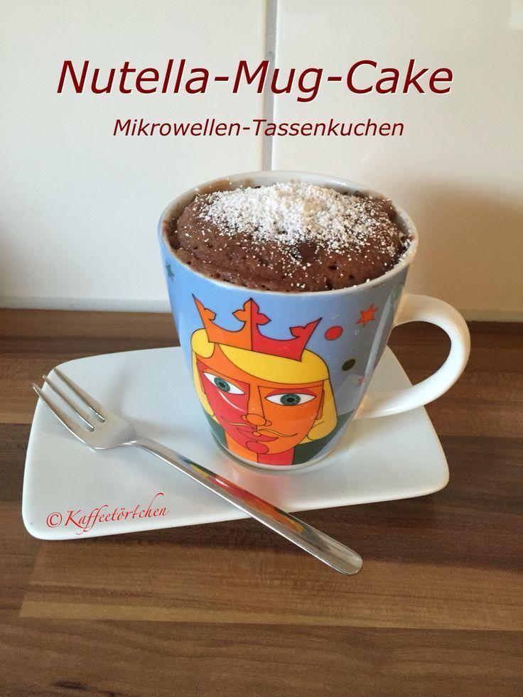 Mug-Cake / Mikrowellen Tassenkuchen... - tassenkuchen-selb...