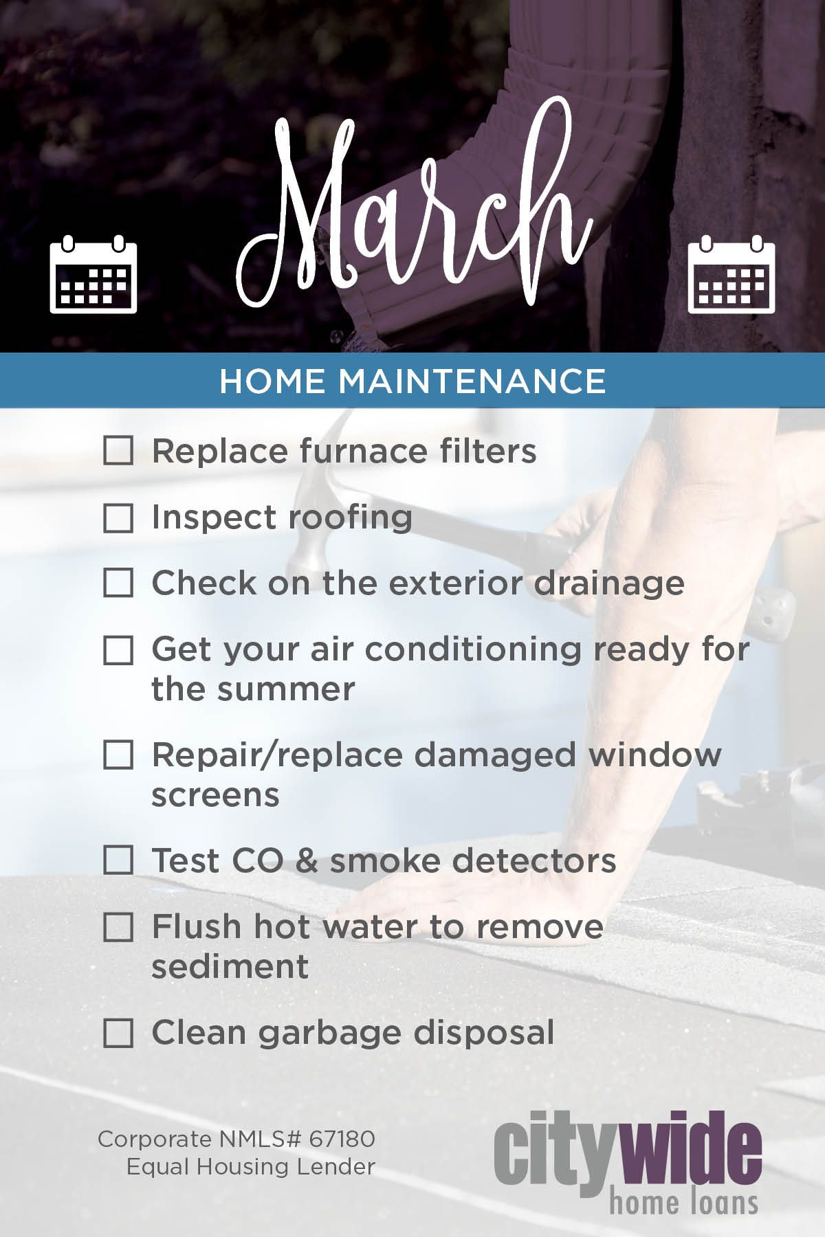 Pin By Citywide Home Loans On Home Maintenance Home Maintenance