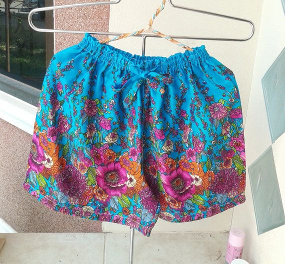 New Boho Hippie Shorts Pants  Summer Beach Women by MicroTee