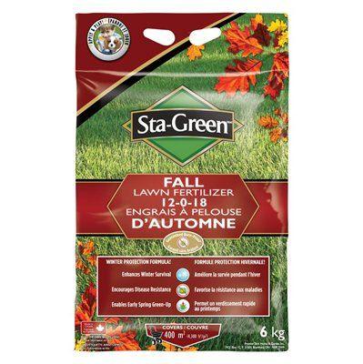 Lawn Sta Green Fall Fertilizer
