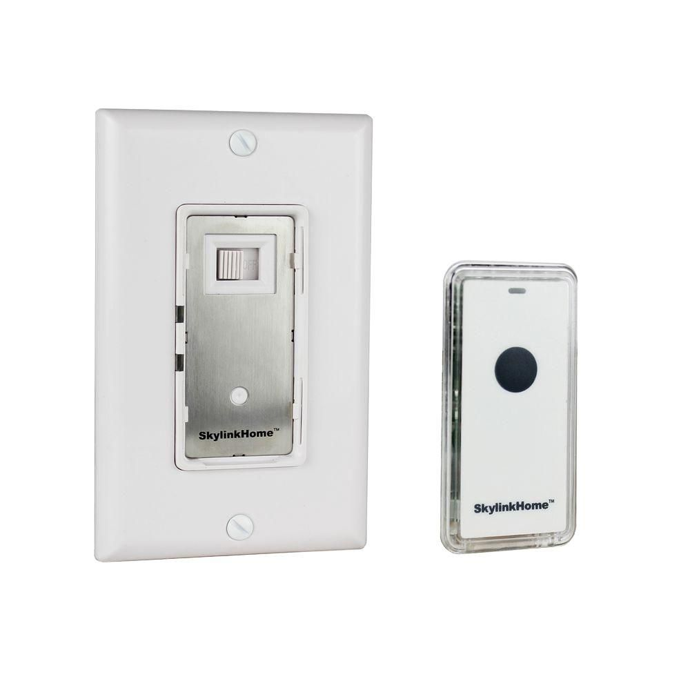 skylink wr 318 dimmable wall switch with remote white wr on wall control id=57535