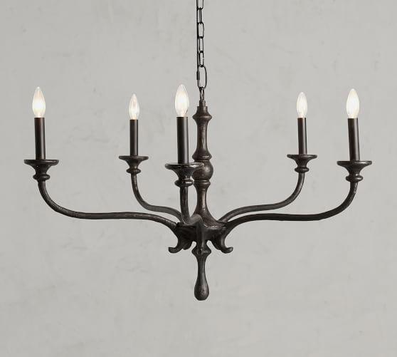 Lockhart Chandelier Metal Chandelier Vintage Candle