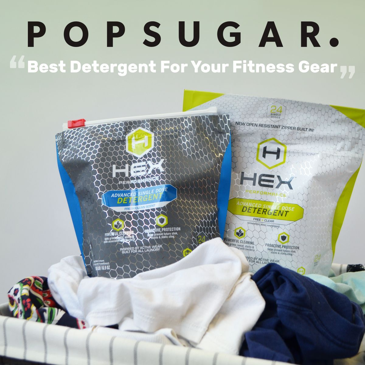 Hex Performance Free Clear Advanced Laundry Detergent With