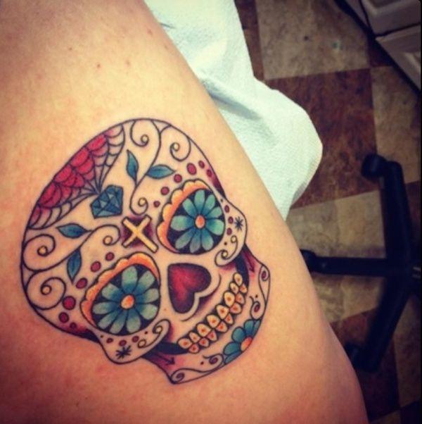 Tatuajes De Calaveras Mexicanas Significado Tattoo Ideas Tattoos