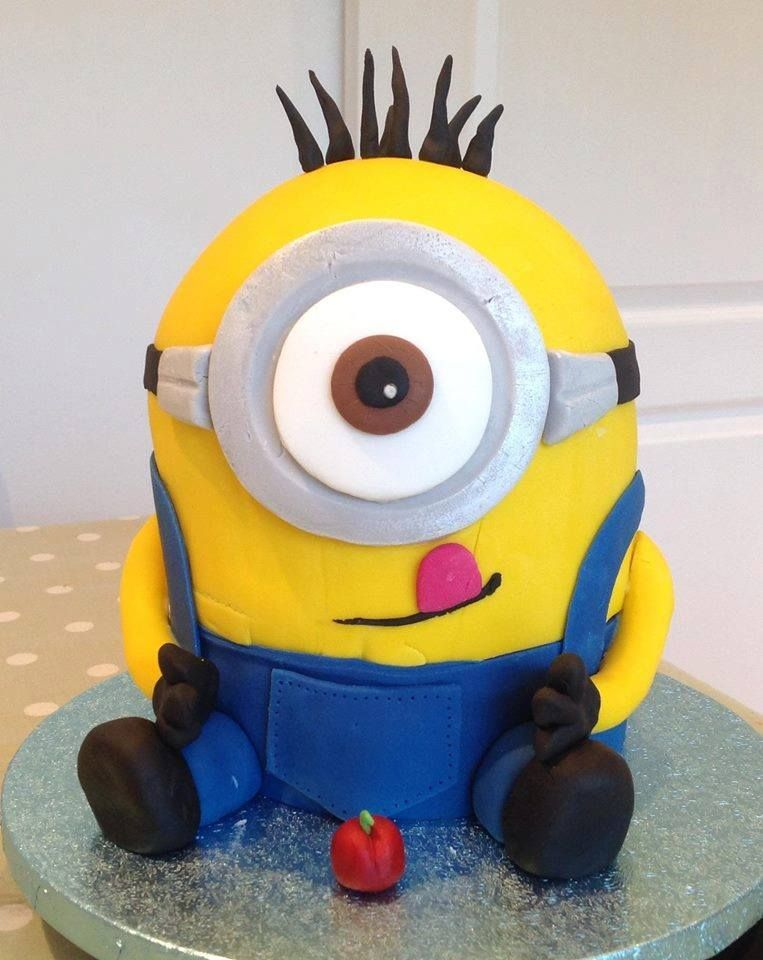 Our Hemisphere Cake Pans are perfect for making a minion cake http