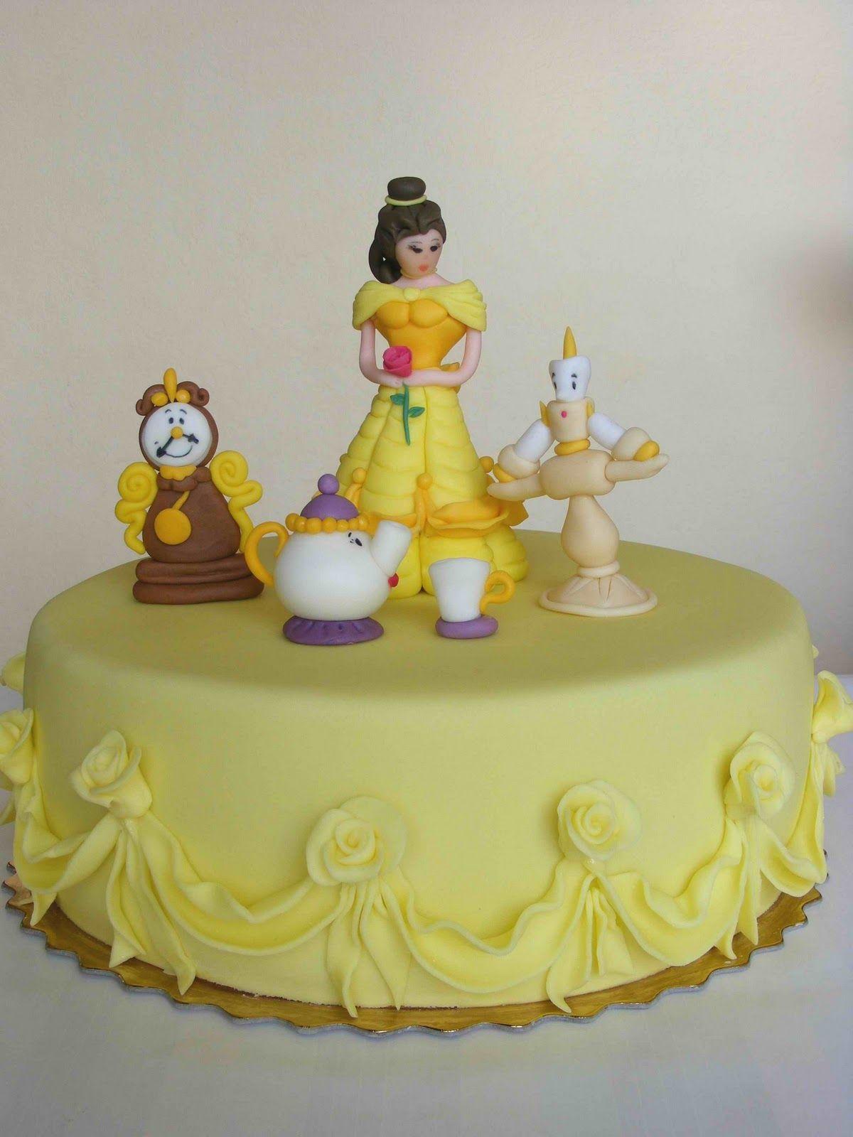 Beauty And The Beast Cake I Want