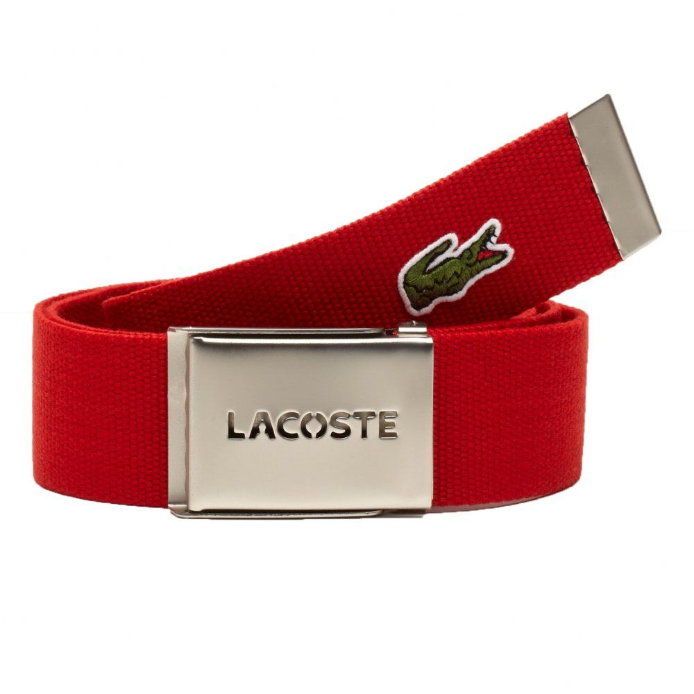 bea8f811e Lacoste Woven Belts for Men